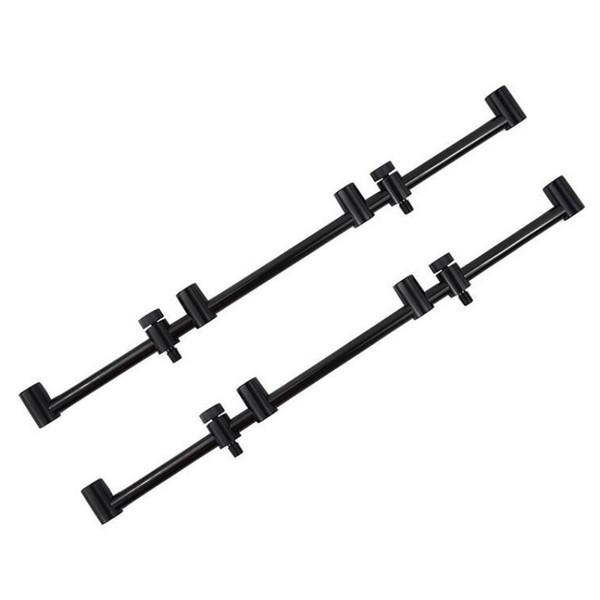 Angelrute Halterung Horizontal Halter Aluminiumlegierung Winddicht Anti Falling Snag Bar Ohrstecker Bissanzeiger Karpfen Supplies Kit
