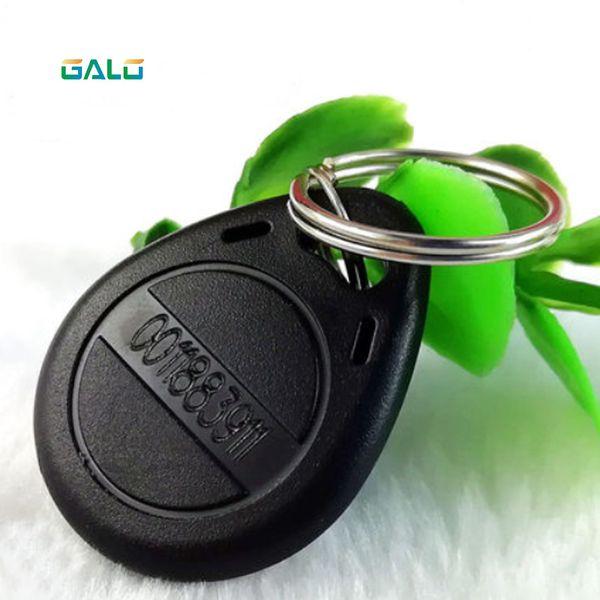 galo 100pcs / Lot RFID-Karte 125kHz Rfid keyfobs Tag (bule, rot, gelb) für Smart Gate Elektronisches Schloss