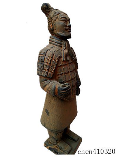 Terracotta Warriors officer 42cm height Statue Designer replica Ancient Qin Shihuang warrior eighth wonder world Great Xi'an history