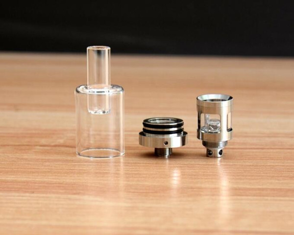 best sub ohm tank for wax concentrates smoking glass cup heating baking QUAD technology replacement coil head wax oil tank box mod vaping