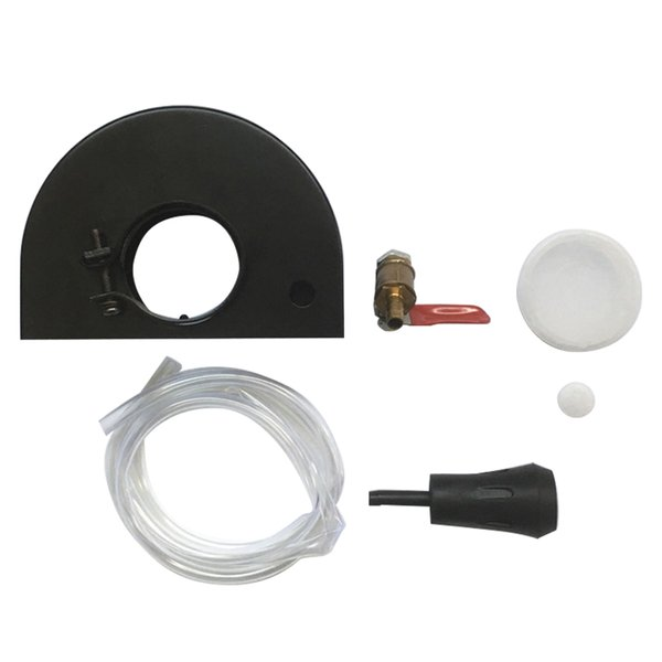 Dust-Free Angle Grinder With Water Dust Cover Shield Set Cutting Slotting Protective Filled Cover With Adjustable Water Valve