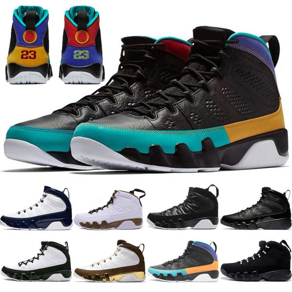 retro retros 9 shoes Tasarımcılar 9 9 s Rüya, Bunu Yapmak Erkekler için Basketbol Ayakkabıları Antrasit Mop Melo OG uzay reçel Ruh Getirdi Spor Eğitmenler Sneakers