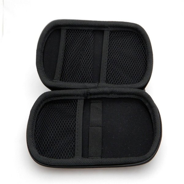 EGO Electronic cigarette Zipper box case bag package with Zipper carrying for E cig Joye eGo-T ego--tank E-cigarette ce4 ce5