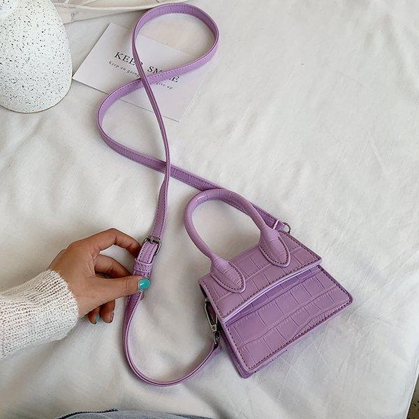 Фиолетовый сумка