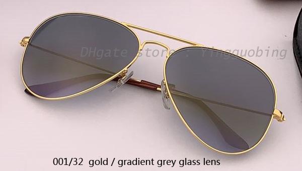 001/32 золотой / градиентный серый