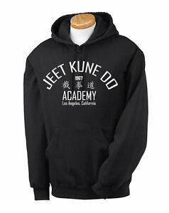 Jeet Kune Do Bruce RoRock Hoodie Martial Arts Kung Fu MMA Karate Enter the Dragon