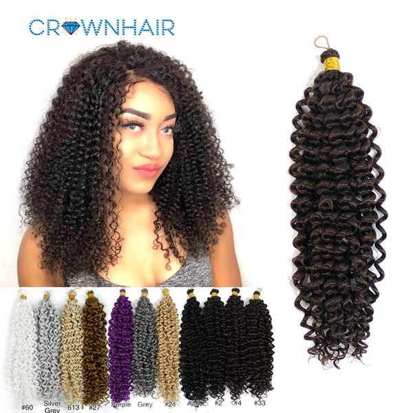 best selling Braiding Hair Extensions Water Wave Braids Blonde Bundles Freetress Afro Synthetic kinky Twist Crochet Hair Bulk