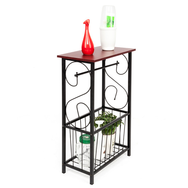 2019 New Magazine Toilet Paper Holder Small Bathroom Table Magazine Rack Stand Organizer Us Shipping From Dreamfly618 19 2 Dhgate Com