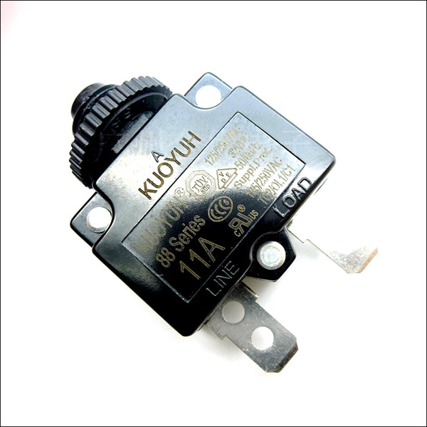 top popular Taiwan KUOYUH Overcurrent Protector Overload Switch 88 Series 11A 2021