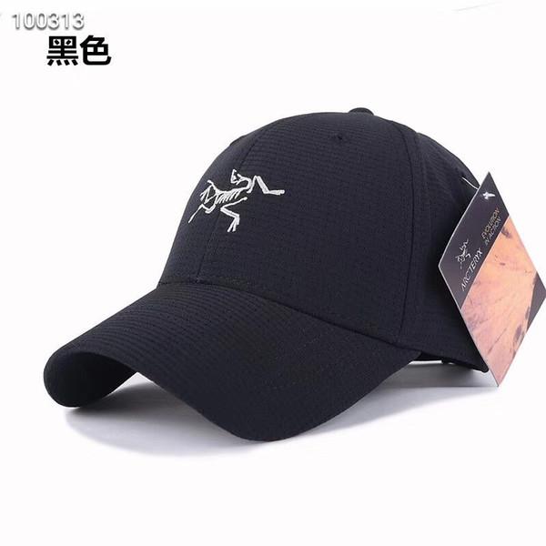 ARC-Hüte der Marke 2019canada kappen Mannfrauen-Entwerfer-Hysteresen-Kappe für Mannbaseballhutgolfgorras-Knochen casquette d2 Hut geben Verschiffen frei