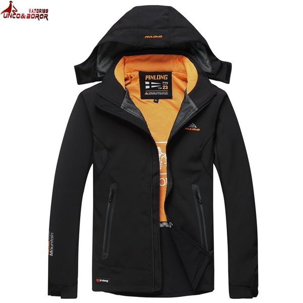 UNCO&BOROR new winter jacket men Military Tactical Jacket Men Soft Shell Waterproof Windproof Jacket outwear Trekking parka coat