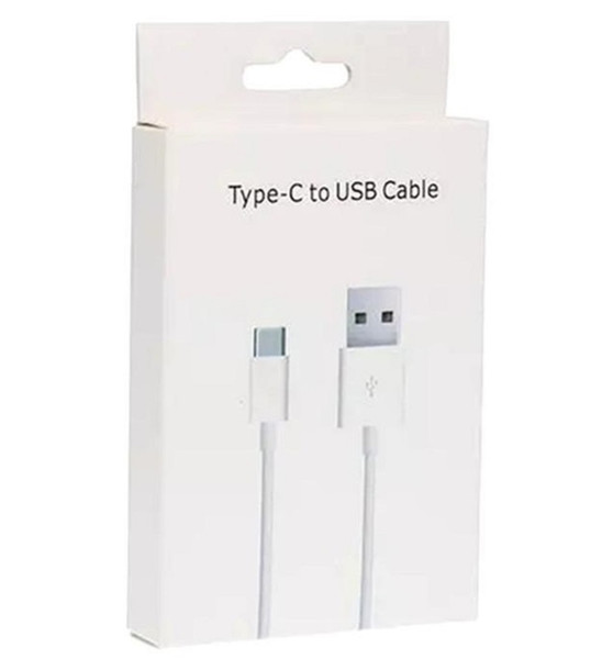 1M Type C USB Cable Charging Charger Adapter Cord With retail package box For Samsung s10 s9 s8 plus huawei p10 p9 lg g5 google