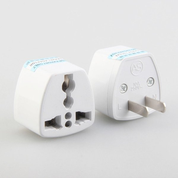 top popular Universal AU US UK to EU AC Power Plug Travel Adapter Outlet Converter Socket White Top quality 2020