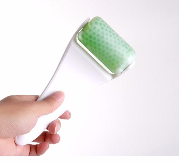 10 stücke Ice Roller gesichtsmassagegerät Für Gesicht Körper Haut Kühlen derma Roller Hautpflege Massage faltenbehandlung Dermo Roller