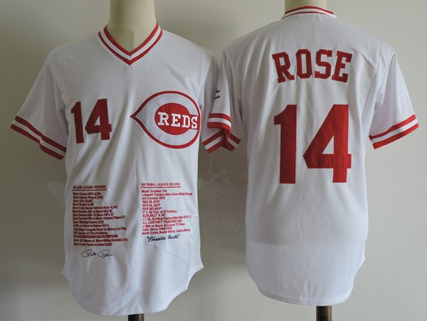 14 Pete Rose Cincinnati Pullover