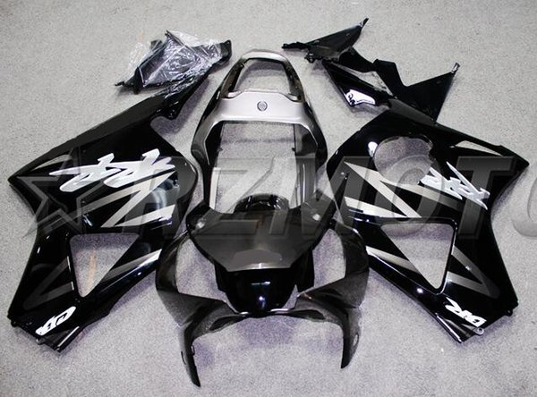 3Gifts New ABS Motorcycle fairings Kit Fit for HONDA CBR954RR CBR900RR 954 02 03 CBR954 2002 2003 Fairing set custom black