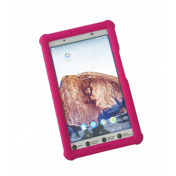 Quality Case for Lenovo Tab 4 8 Tablet Cover Model TB-8504F Shockproof TB8504 F/X Shockproof Silicone Rugged Case