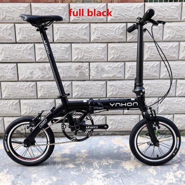 full black 14 single speed