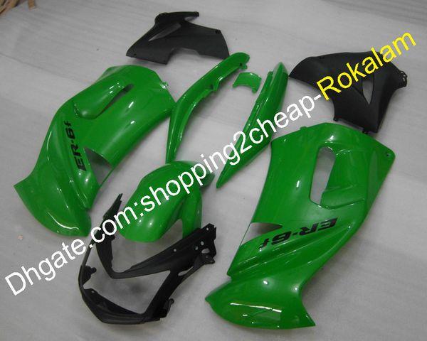 650R Racing 06 07 08 Fairings kit For Kawasaki ER-6F 2006 2007 2008 Green Ninja 650 Motorcycle Fairing Set