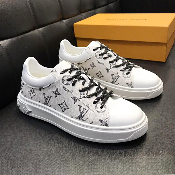 Mens Shoes Fashion Sneakers Lace Up Luxembourg Rivoli Sneaker Zapatos de hombre Lightweight Athletic Walking Sport Shoes for Men 2019 Summer