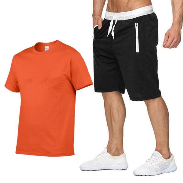 Arancione e nero ell logo bianco