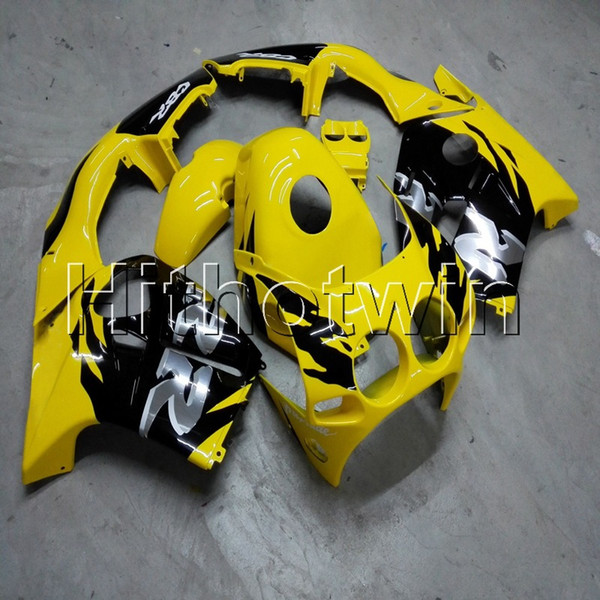 23 couleurs + vis moulage par injection jaune ABS corps kit carénage pour Honda CBR250RR MC19 1988-1989 MC19 88 89 capot de moto