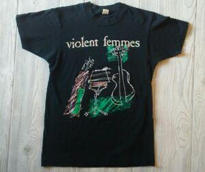 Vintage Violent Femmes 1989 Tour T Shirt Tamanho Grande