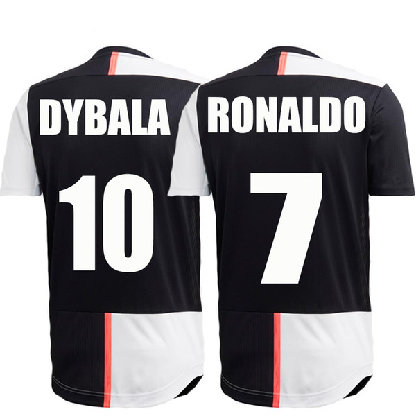 sports shoes 85fb2 33664 2019 Ronaldo Jersey Juventus 2019 Home Youth Dybala Kids Kit Bernardeschi  Uniforms Football Shirt Juventus Soccer Jersey 2019 From Zhugege168, $15.22  ...