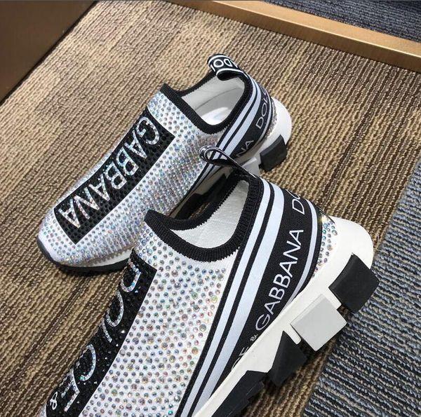 Топ 2019 Повседневная обувь Мода Кожа Luxury Designer Повседневная обувь для мужчин и женщ
