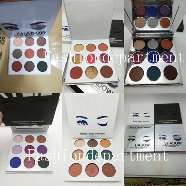 In tock new makeup high quality eye hadow 9 popular color 6 tyle available eye hadow palette hipping