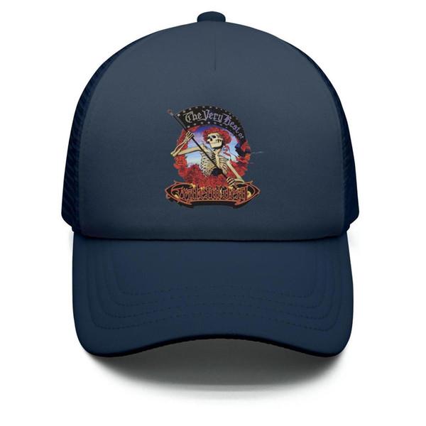 Kids Boys Girls Children Adjustable Baseball Cap Grateful-CD-Dead-artist-The Very Best Sun Protection Cap Mesh Back Trucker Hats