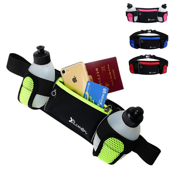 Laufen Trinkgürtel Frauen Männer Sport Trail Running Gürteltasche Wasserdicht Jogging Gym Taille Gürteltasche Mit Wasserflasche