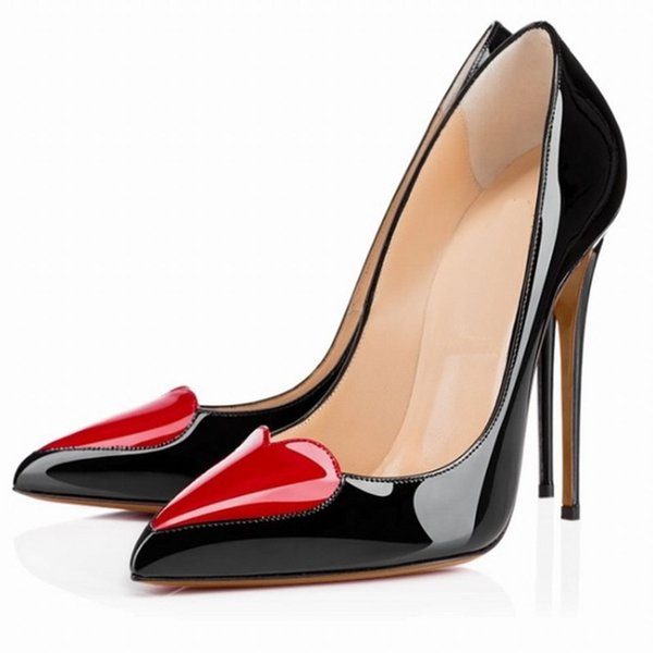 Women's Dress Shoes 2019 designer luxury Mahogany Pumps shoes Office & Career Wedges High heel Autumn Wing Toes Thanksgiving Day
