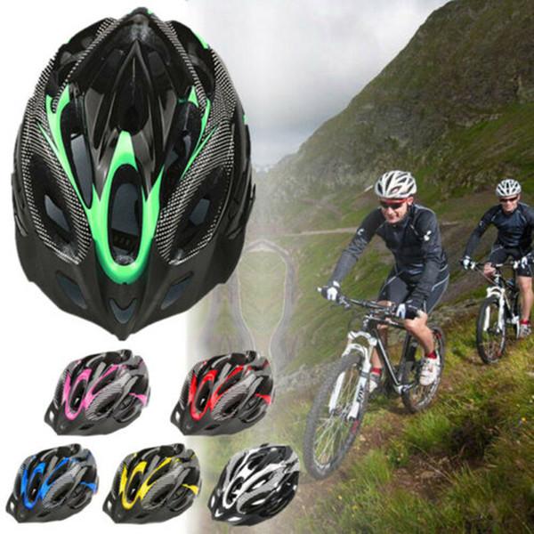 Mountainbike Split Helm Reitausrüstung Zubehör Kohlefaser Schutzhelm Outdoor Sports Cycing Camping Helm LJJZ126