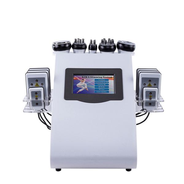 Macchina sottile ultrasonica ultrasonica del laser di cavitazione di Lipo di vuoto 40K del corpo di bellezza del salone di bellezza per perdita di peso