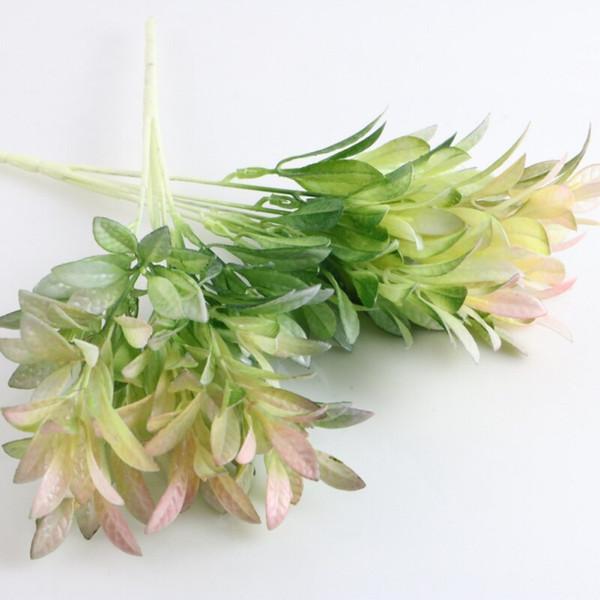 مجموعة من 1 نباتات اصطناعية 6 فروع نباتات خضراء مزهرة ينبع ديكور ترتيب الزهور التموين لاحتياجاتك