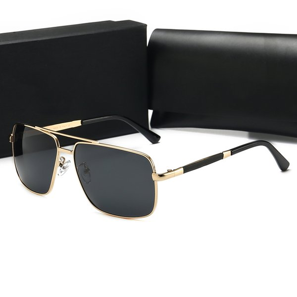 las nuevas gafas de sol elegantes gafas de sol unisex de alta calidad diseñadas por la marca