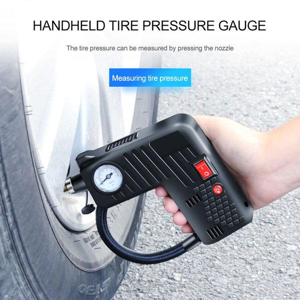 Tire Inflator air pump DC 12 Volt Car Portable Air Compressor Pump for Car Motorcycles Bicycles Multi-Function tool