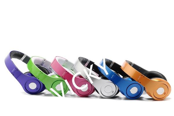 La última versión de la página web oficial 6 nuevos envases de color ingeniero de sonido de alta calidad auricular inalámbrico Bluetooth, mezcla de audio de la calle