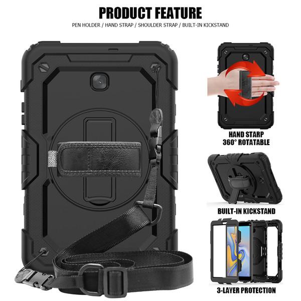 Neueste Kunststoffhülle Silikon Material Rückseite Schutz für iPad ipad2017 / 2018 /air2/pro9.7