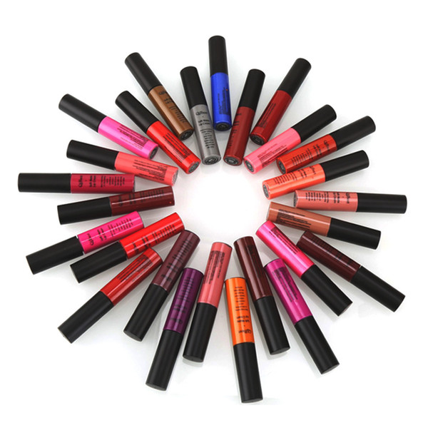 Long-lasting Lip Gloss 34 colors Soft Matte lip Cream moist Colouring smooth Liquid lipstick lip gloss