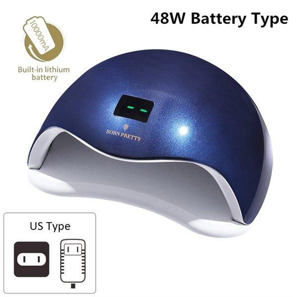 48W Battery Blue