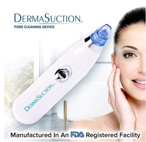 New derma uction remover facial pore cleaner electric pore vacuum extraction blackhead removal rechargeable kin peeling machine