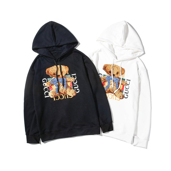2019 Le donne con cappuccio nuovi designer di marea degli uomini di marca stampare uomini felpa casual hip hop rivestimento della chiusura lampo di alta qualità di lusso felpe M-XXL