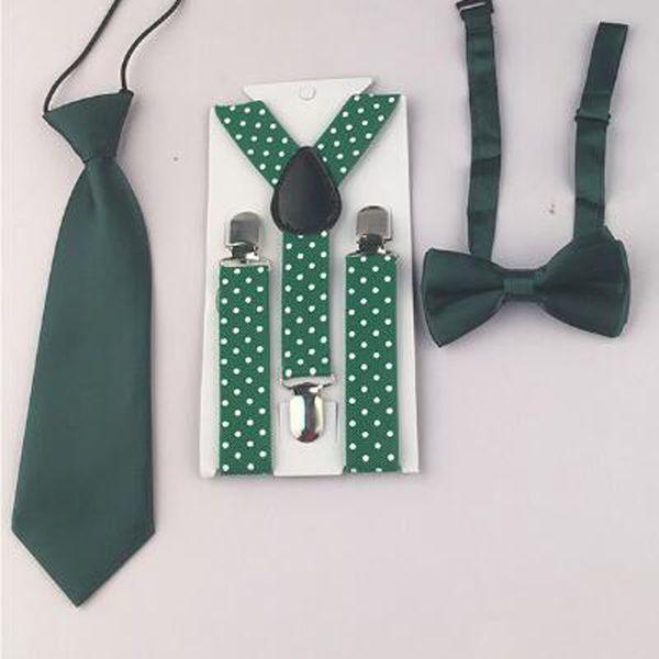 Новое прибытие Классический Baby Boy малышей Unisex регулируемый галстука Боути Suspender Y-Back Бесплатная доставка HHtr0005a06