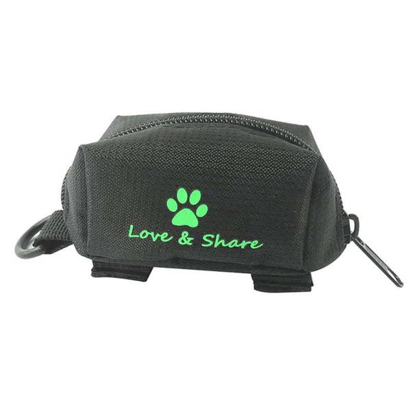 Поводок для собак в виде повязки для собак Поводок Оксфорд Тканевая насадка Сумка для пикапа с одним рулоном