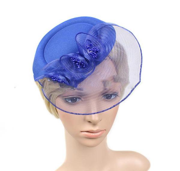 New air hostess hat boutique hairdressing dance banquet headdress Bridesmaid headdress