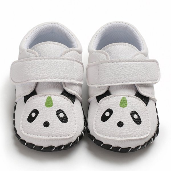 2019 Cute Kids Baby Boys Infant Shoes Breathable Cartoon Pattern Anti-Slip Shoes Sneakers Soft Soled Walking First Walkers