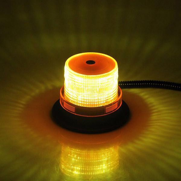 12V / 24V Coche LED Luz estroboscópica del techo Baliza Luz intermitente de advertencia Lámpara de señal de emergencia del vehículo del vehículo