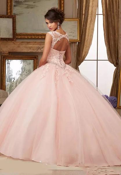 Pink heart-shaped collar neckline net design collar card back strap shoulder sleeve skirt Sequin applique lace Prom shipping multi network